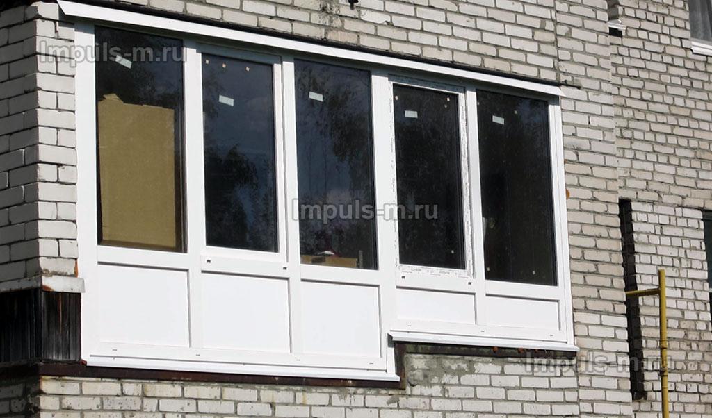 Остекление балконов в щёлково этой осенью - www.impuls-m.ru.