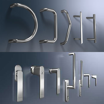 Ручки для алюминиевых дверей из нержавеющей стали